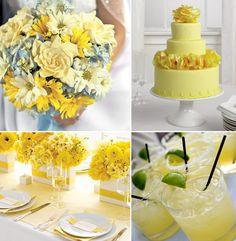 Sunny bright yellow inspiration board