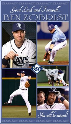Tampa Bay Rays - I'm really sad to see Ben go. Good Luck Ben!
