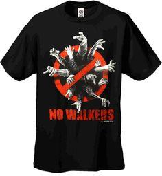 AMC The Walking Dead - NO WALKERS Men's T-Shirt