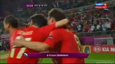 Euro 2012: Russia vs Czech Republic 4-1 All Goals & Highlights