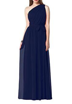 YH Women's Floor Length One-Shoulder Long Evening Dresses Bridesmaid Dresses Navy Blue US 16 Yinhan http://www.amazon.com/dp/B0129CAA92/ref=cm_sw_r_pi_dp_hHL1wb0WBJQGZ