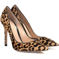 save off ff315 78305 Leopard-print has gone from statement pattern to wardrobe neutral in recent  years. These beautifully sculpted pumps by Gianvito Rossi have a perfect ...