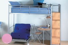 Bunk Beds for Teens | ... Hyder Storage Loft Bunk Bed | Cheapest Bed Prices | Cheap Beds