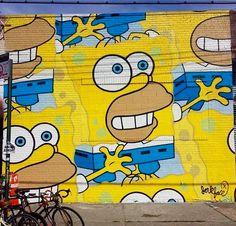 street art (Brooklyn, NY) by Jerkface
