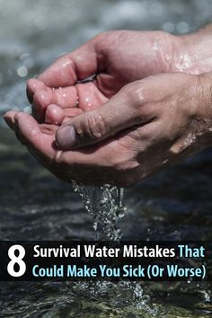 Other than oxygen, water is the most important thing for human survival, which is why it's so important to learn about water collection and purification.