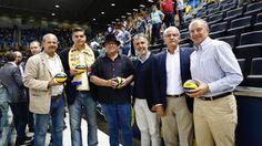TIEMPO DE DEPORTE: El Rocasa Gran Canaria homenajeado por su título c...