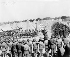 Troops in training camp in California, January 01, 1918