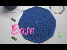 Diy Crochet, Crochet Hats, Mochila Crochet, Top Les, Base, Crochet Designs, Crochet Stitches, Projects To Try, Tapestry