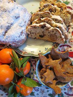 Goûter de Noël (stollen et schwowebredele)