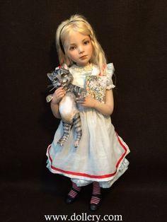 Jane Bradbury kolekcionuojami Lėlės