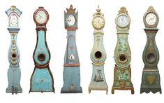 Antique Swedish Mora Clocks - Petite Haus