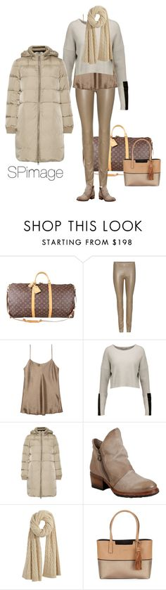 """""""Traveling with style"""" by sp-image ❤ liked on Polyvore featuring Louis Vuitton, The Row, Vince, Autumn Cashmere, MM6 Maison Margiela, A.S. 98, Calypso St. Barth and Calvin Klein"""