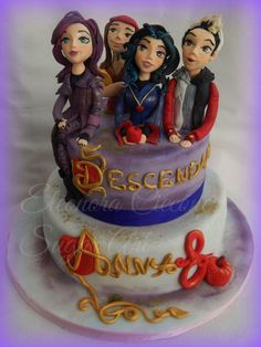 """Descendants""+cake+-+Cake+by+Eleonora+Ciccone"