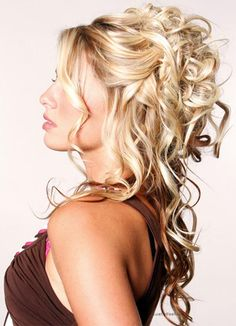 formal hairstyles down how to curl long curly hair, Beautiful & Stylish New Wedding Hair Style Collection 2014|Stylish & New Wedding Party Hair Style Collection 2014 Latest Bridal Hairstyle