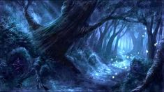 Fantasy and Foodporn — Myth Anomalies: Undead or Fey Fantasy Art Landscapes, Fantasy Landscape, Fantasy Artwork, Landscape Art, Fantasy Forest, Magic Forest, Forest Art, Dark Forest, Fantasy Places