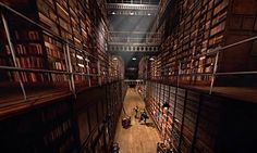 12 Best Fictional Libraries -   #1. The Library from Doctor Who