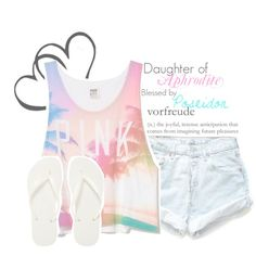 Daughter of Aphrodite Blessed by Poseidon. Daughter Of Poseidon, Princess Kitty, Girly Outfits, Aphrodite, Percy Jackson, Blessed, Rompers, Tank Tops, How To Wear