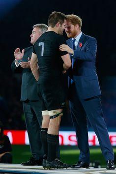 Prince Harry Photos - New Zealand v Australia - Final: Rugby World Cup 2015 - Zimbio