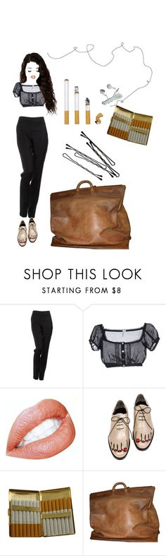 """""""Jeune et jolie"""" by methlick ❤ liked on Polyvore featuring By Malene Birger, Hoff By Hoff, Comme des Garçons, KING, BOBBY and Louis Vuitton"""
