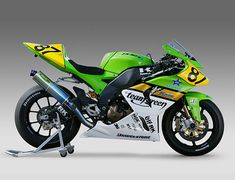 Kawasaki ZX-10R Superbike - 2005 All Japan Road Race Championship racer