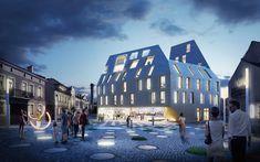 BAKPAK Architects + EovaStudio vencem concurso para edifício multifuncional na Polônia