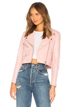Shop a great selection of x REVOLVE Mercy Cropped Jacket Understated Leather. Find new offer and Similar products for x REVOLVE Mercy Cropped Jacket Understated Leather. Coats For Women, Jackets For Women, Clothes For Women, Pop Fashion, Fashion Outfits, Leather Fashion, Fashion Clothes, Cropped Cardigan, Outerwear Women
