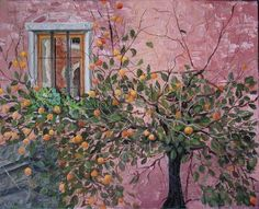 Santa Monica Orange Tree - via tedisoo