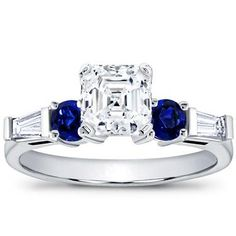my favourite designs come with a dash of blue sapphire