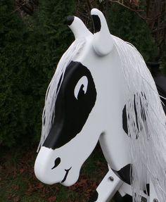 Holzpferd Holzpony Shetty Voltigierpferd Traumpferd NEU 5 Jahre Garantie NEU