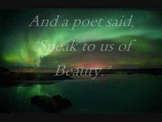""" BEAUTY "" poem of Lebanese poet Kahlil Gibran,  music: by Vitas"