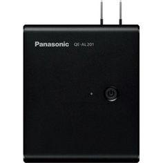 Panasonic QE-AL201-K モバイルバッテリー搭載AC急速充電器 (ブラック)<br>【在庫目安:お取り寄せ】