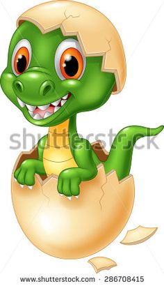 Cute dinosaur cartoon hatching vector image on VectorStock Dinosaur Posters, Dinosaur Images, Dinosaur Pictures, Cartoon Dinosaur, Cute Dinosaur, Dinosaur Illustration, Hand Illustration, Cute Cartoon, Cartoon Art