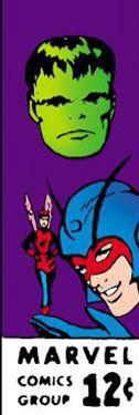 Marvel corner box art - Tales to Astonish (Hulk, Goliath and the Wasp)