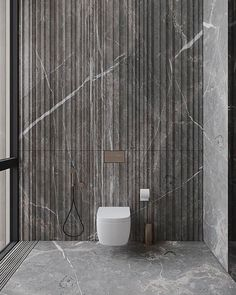 Bathroom Toilets, Bathrooms, Powder Room, Master Bathroom, Dark Grey, Marble, Bathtub, Design Inspiration, Rustic