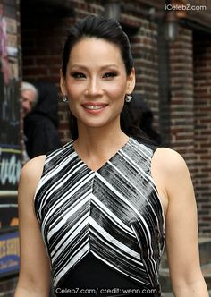 Lucy Liu  Lucy Liu outsider the Ed Sullivan Theater for her taping on the Late Show with David Letterman http://www.icelebz.com/events/lucy_liu_outsider_the_ed_sullivan_theater_for_her_taping_on_the_late_show_with_david_letterman/photo1.html