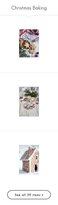 """Christmas Baking"" by pippyshouse ❤ liked on Polyvore featuring Christmas, baking, christmasbaking, home, home decor, holiday decorations, xmas wreaths, christmas home decor, christmas wreaths and christmas holiday decorations"