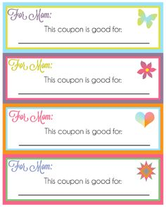 The Stitchin' Mommy: Free Mother's Day Printables