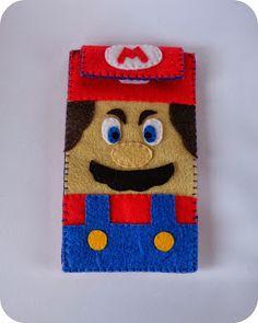 El café del bosque: Funda de móvil Super Mario Bross