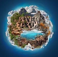 World Building : Creating a Composite Environment in Photoshop CS6