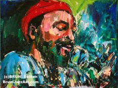 Marvin Gaye by Bruni Sablan