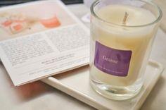 Handmade 100% beeswax candles from Korea, by Hani Chloe / Nalda Around the World