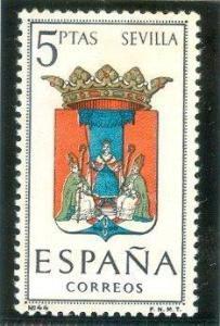 1965 España-Escudo de la Provincia de Sevilla