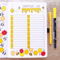 April Plan With Me - Bees Theme – Archer and Olive Bullet Journal Tracker, Bullet Journal August, Creating A Bullet Journal, Bullet Journal For Beginners, Bullet Journal Monthly Spread, Bullet Journal Aesthetic, Bullet Journal Writing, Bullet Journal School, Bullet Journal Inspo