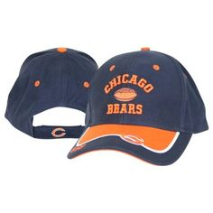 793bb5853 Chicago Bears 2-Tone Bill Adjustable Baseball Hat by NFL.  3.98. Officially  licensed NFL apparel. Adjustable