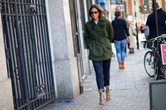 #lfw street style, Capucine Safyurtlu is always a fave