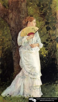 The Trysting Place  Winslow Homer