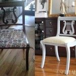 My Craigslist Dining Chairs: Before & After