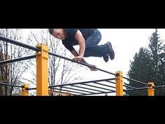 Tutorial #5 Jump over the bar / Street Workout Tutorial Przeskok nad drążkiem