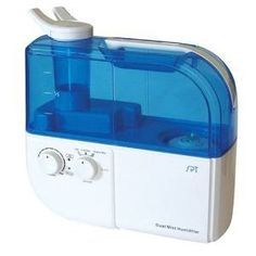 SU 4010: Dual Mist Humidifier with ION Exchange Filter [Blue]