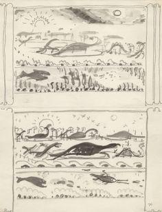 Preliminary art for Life Story, Act II, Scene 2 - Children's Literature